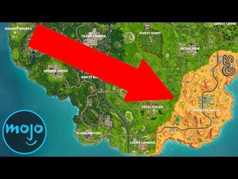 Top 10 Biggest Fortnite Map Changes