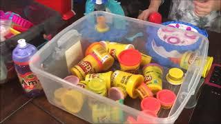 Ice Storm Play Doh!  Cupcakes, Ice Cream Cones, Ice Cream HAM?!