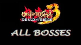 Onimusha 3: Demon Siege  - All Bosses