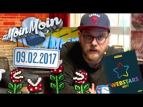 #MoinMoin mit Etienne | Rocket Beans als Panini-Sammelbilder, Angriff auf Marco Schreyl | 09.02.2017