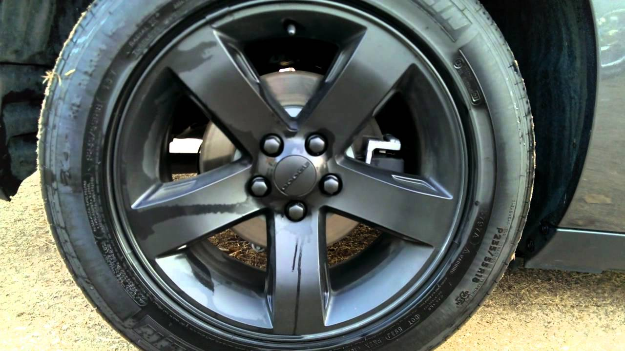 2013 Dodge Challenger 3 Month Plasti Dip Update Video