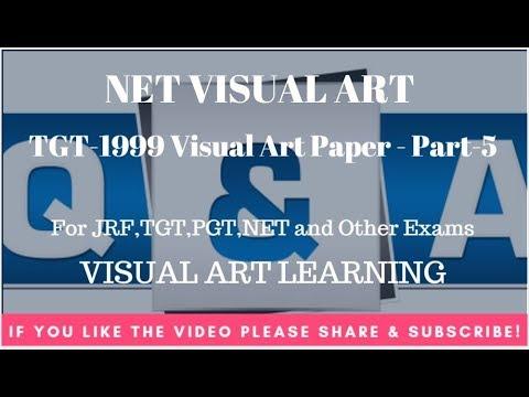 TGT-1999 Visual Art Paper - Part-5