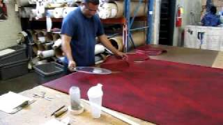 Upholstery Vinyl Cutting Upholstery Vinyl Cutting fabric with a pattern