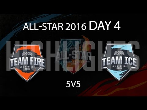 5v5 Mixed Match 2 Highlights LoL All Star    - Team Ice All-Stars vs Team fire All-Stars New Flash Game