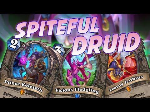 Proviamo lo Spiteful Druid in questo strano meta | Hearthstone