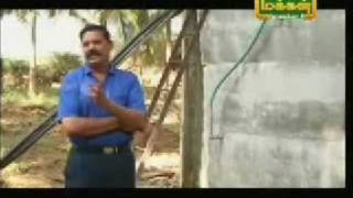 My dad in Makkal TV with his improvised automated irrigation system Part 1