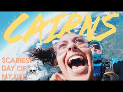SKYDIVE LANDING FAIL *GONE WRONG *LIVE FOOTAGE   Travel Vlog    Studying in Australia Vlog #10