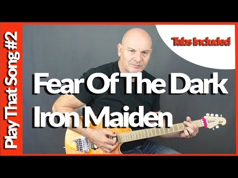 How To Play - Fear Of The Dark - Iron Maiden - Guitar Tutorial
