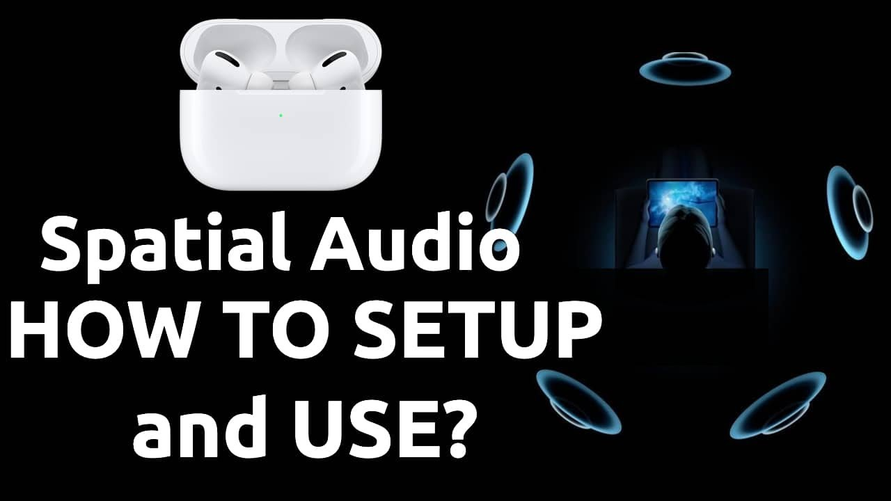 Apple AirPods Pro Spatial Audio Setup | HOW TO USE?