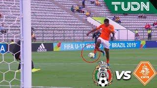 ¡Increíble, tenía que ser gol! 😱 | México 0 - 0 Holanda | Mundial Brasil Sub-17 - Semifinal | TUDN