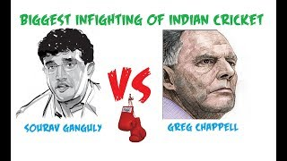 Sourav Ganguly Vs Greg Chappell Controversy | Biggest Infighting in Indian Cricket | Hindi