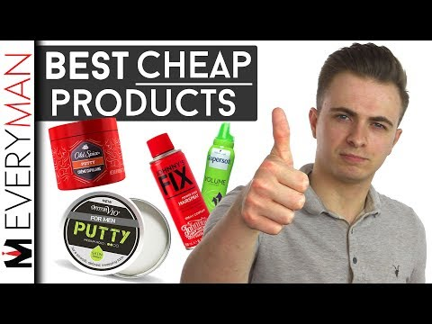 Best Cheap Hair Products Men | My Top Picks