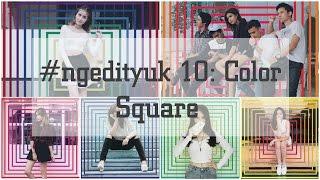 Cara Edit Foto Menambahkan Color Square ala Awkarin. Gampang Banget! (PicsArt)