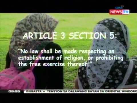 SONA: Mga Babaeng Muslim, Obligasyong Mag-hijab Kapag Sila'y Nagdalaga