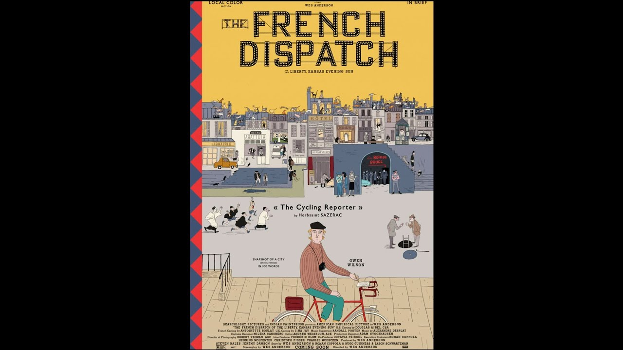 Download THE FRENCH DISPATCH | The Cycling Reporter by Herbsaint SAZERAC | Searchlight Pictures