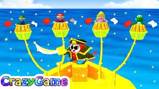 Mario Party 4 - Battle Mode 7 Wins + More Mario Party Minigames Gameplay