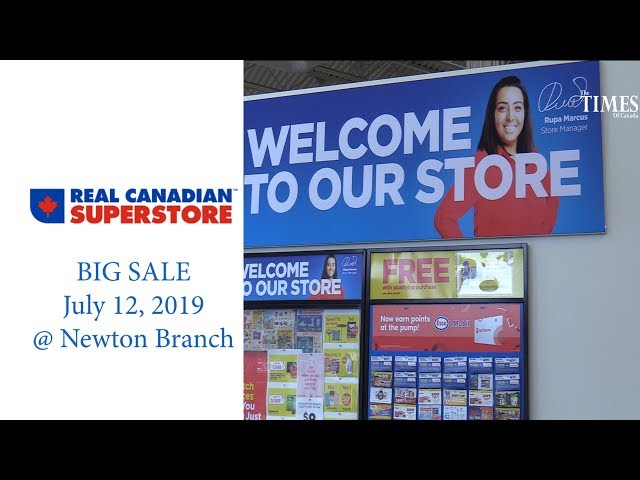 Superstore Newton Low Prices July 12, 2019