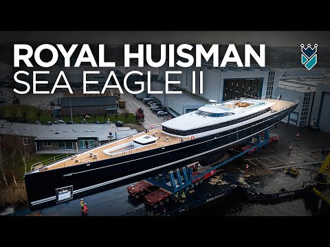 "ROYAL HUISMAN'S REMARKABLE 81M SAILING SUPERYACHT ""SEA EAGLE II"""