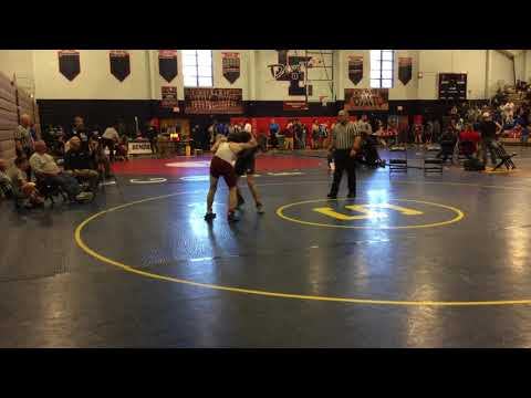 Preston vs Cole  at Sectional Qualifier at Lugoff Elgin High School 1/13/18