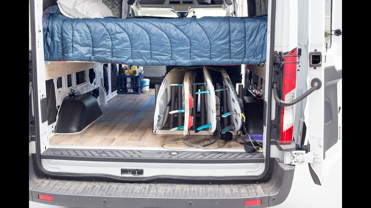Build A Surfboard Rack For Your Van YouTube