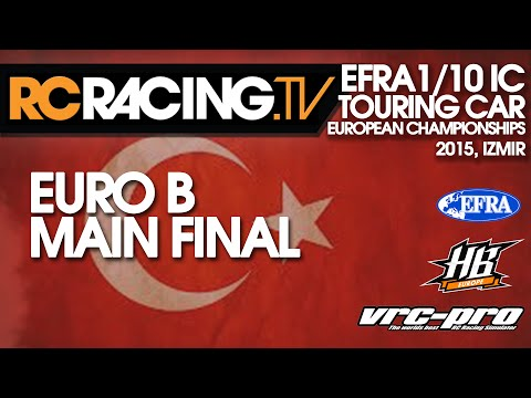 EFRA 1/10th IC Track Euro B 2015 - Main Final