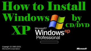 How to Install windows xp step by step