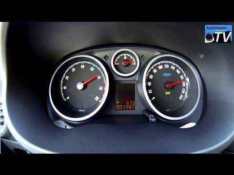 2014 Opel Corsa OPC NRE (210hp) - 0-210 km/h acceleration (1080p)