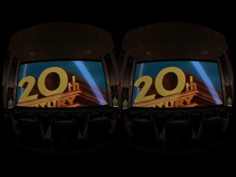 Cool Virtual Reality Movie Theater Experience!