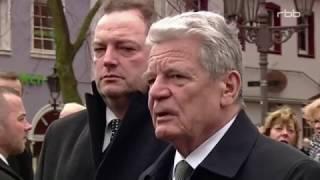 Bundespräsident Joachim Gauck das Portrait, Ende einer Amtszeit