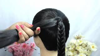 Quick & easy juda hairstyle for festival || everyday hairstyle || very easy Hairstyle || hairstyles