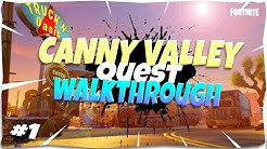 *NEW* Canny Valley Quest Walkthrough | SSD1-SSD3 | Fortnite Save The World