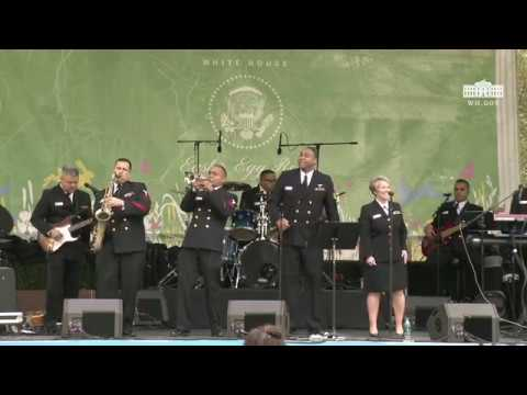 White House Easter Egg Roll: Bunny Hop Stage with The United States Navy Band