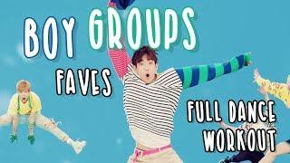 Boy Groups Favourites Kpop Dance Workout | full length workout