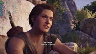 AMD Ryzen 3 2200GE Test - Assassin's Creed Odyssey - Gameplay Benchmark Test