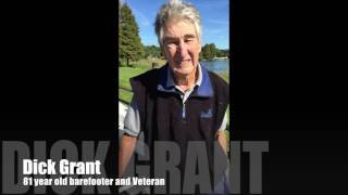 Barefoot Skiing 81 year old Dick Grant 2014 Veterans Day Inspiration
