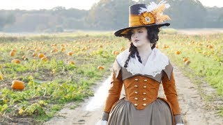 Costume Spotlight: 18th c. Striped Redingote
