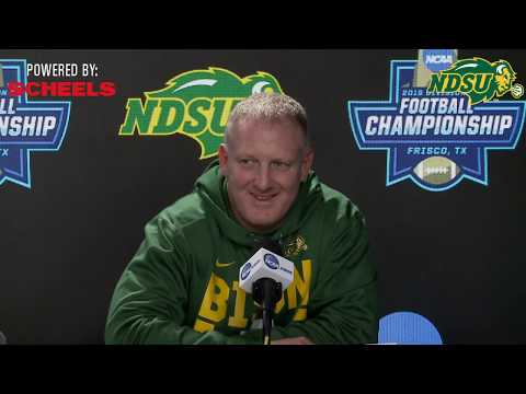 NDSU Football FCS Championship Press Conference - January 4th, 2019