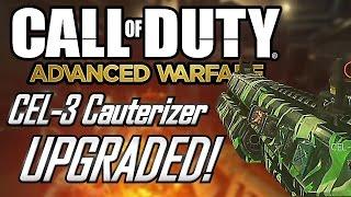 outbreak exo zombies cel 3 cauterizer upgraded advanced warfare havoc dlc gameplay