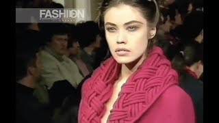 MAURIZIO GALANTE Fall Winter 1992 1993 Milan - Fashion Channel