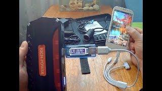 Power Bank + Jump Starter 1280mAh с Алиэкспресс.