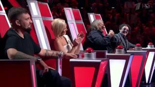 Голос The Voice Russia 2015 - Мария Кац «What s up» - Слепые прослушивания - Blind - Сезон 4