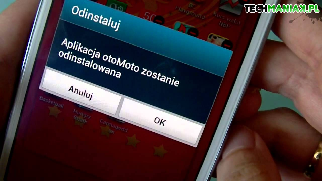 Android – jak odinstalować aplikacje?  #Smartphone #Android