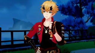 Фото Playable Thoma In Hangout Quest | Genshin Impact