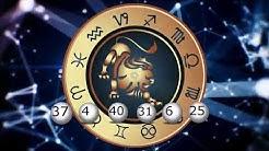Счастливые числа для всех знаков в июле 2019/ Lotto-Horoskop Glückszahlen Juli 2019