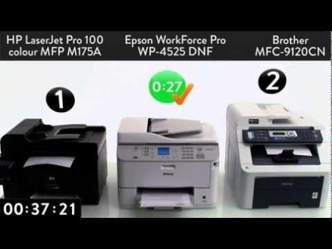 Epson vs  HP vs  Brother