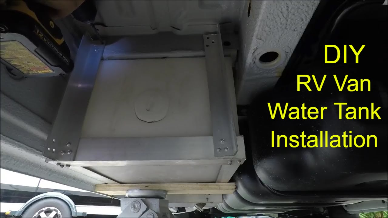Mercedes Sprinter Van >> Sprinter Van Water Tank Installation DIY RV Conversion ...