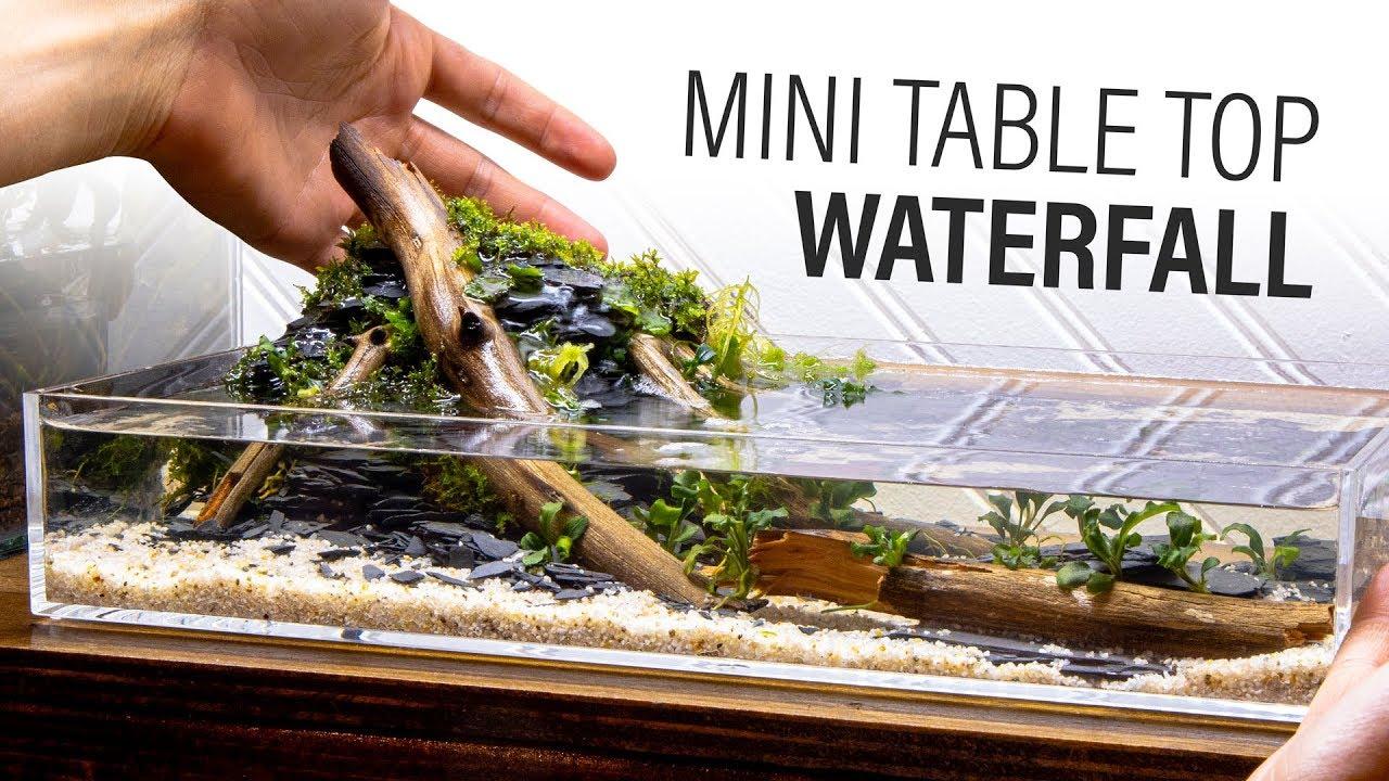 Mini DIY Table Top Waterfall