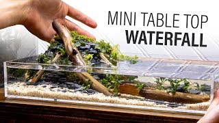 Mini DIY Table Top Waterfall