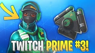 VOICI THE PROCHAIN PACK TWITCH PRIME?! #3 on FORTNITE BATTLE ROYALE. ✔️