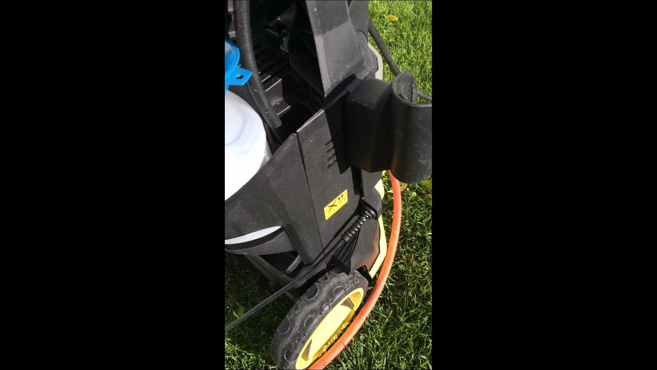 Karcher High Pressure Cleaner Fluid Hack